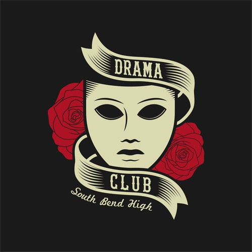 Drama Club T-Shirt design