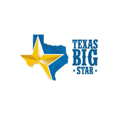 Bold Logo Texas Big Star