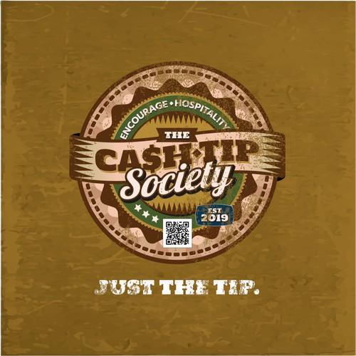 The CashTip Society - Logo Design