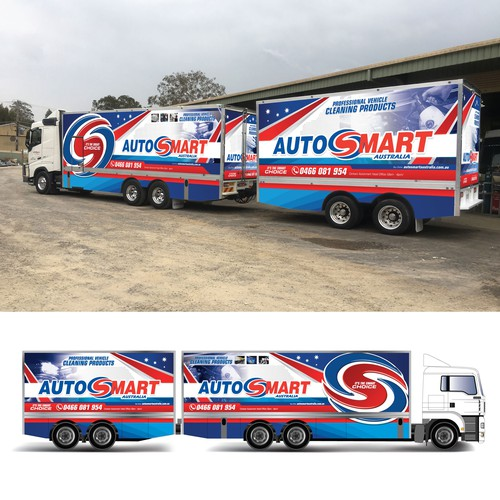 Truck Trailer wrap
