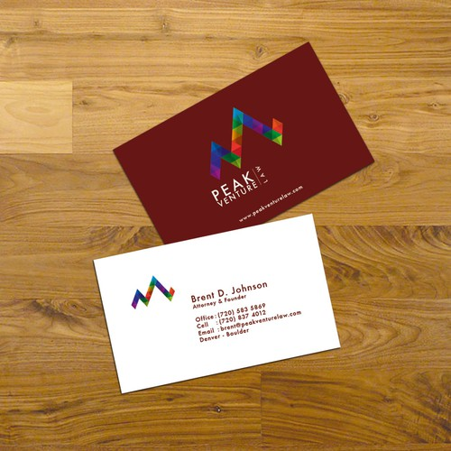 Peak Venture Law proposed logo design