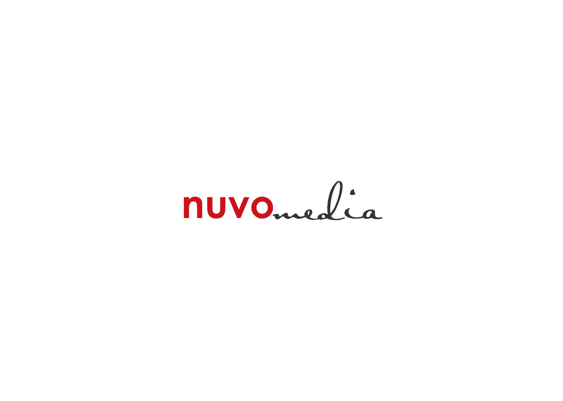 Create the next logo for nuvo media