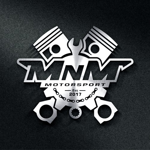 Simple with logo equipment for MnM Motorsport