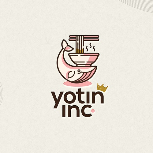 Ramen Fueled Whale!  - Yotin Inc.