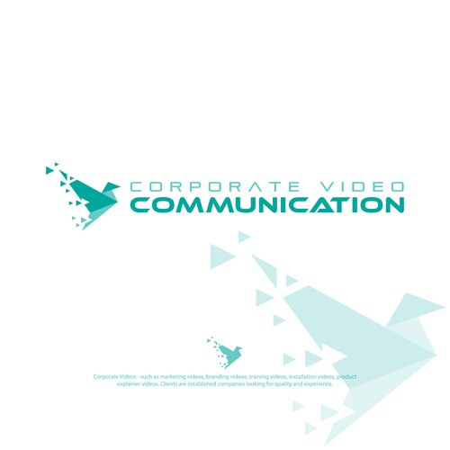 Logo for corporate videos companie