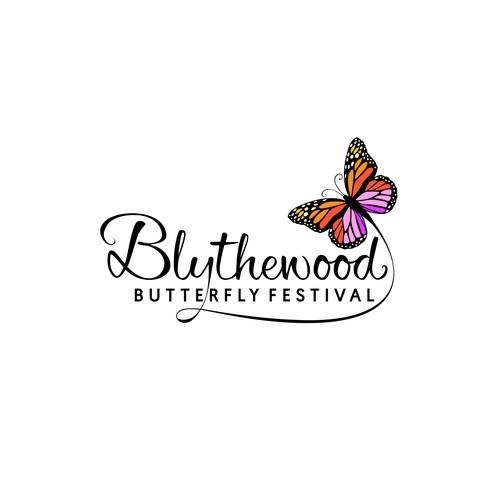 Branding design for Blythewood Butterfly Festival