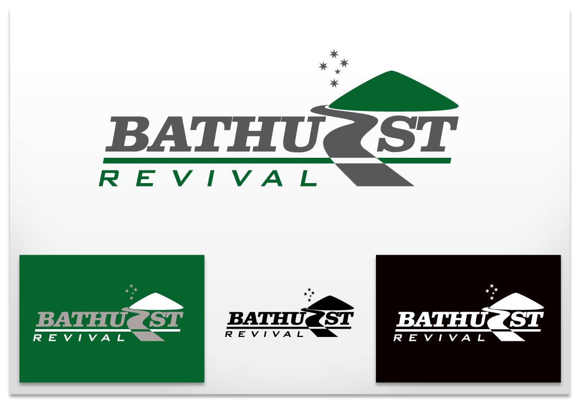Create the next logo for Bathurst Revival