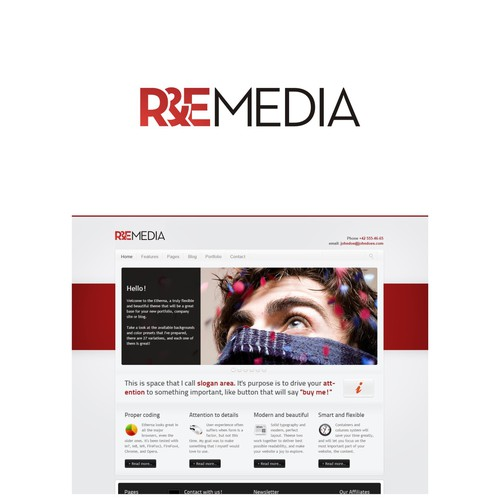 Help R&E Media with a new logo