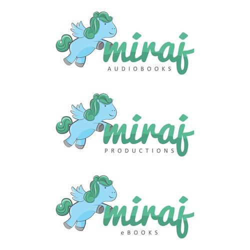 Help Miraj Audiobooks with a new logo