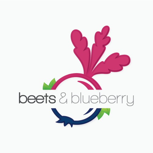 Logo for beets & blueberry