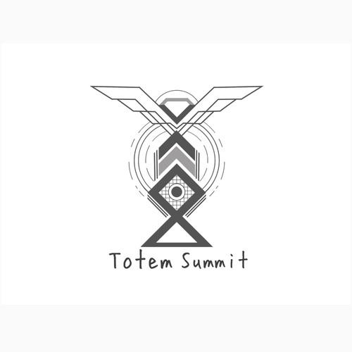 Totem Summit Concept Logo