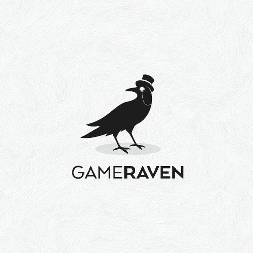 GameRaven Logo Design