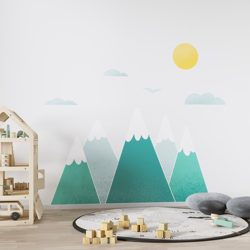 Mountains - Wall Decals