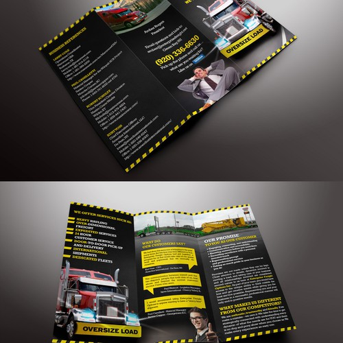 Help Enterprise Freight Options, Inc. with a new brochure design