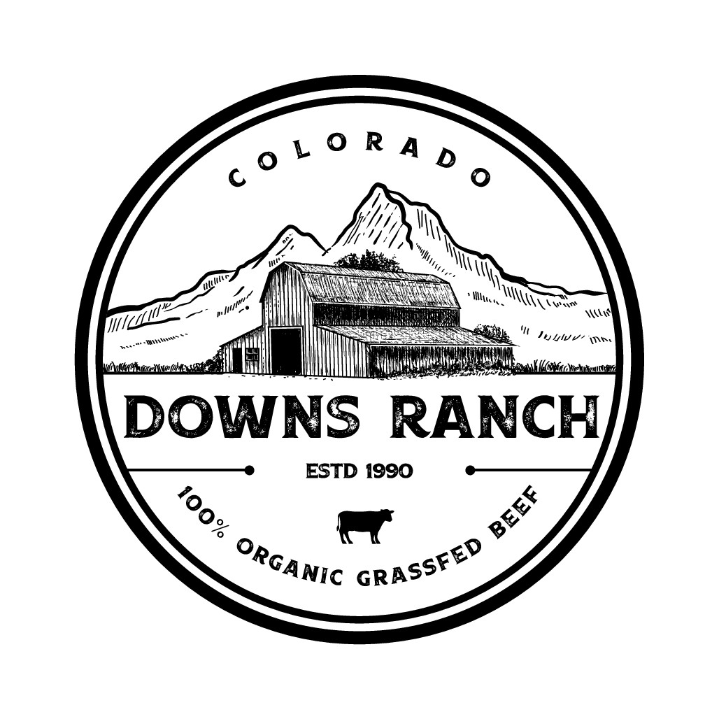 Colorado ranch needs a new logo to direct market grassfed beef