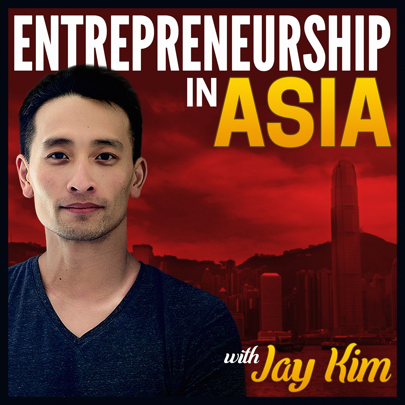 Design a Stunning Podcast Cover for a new Top Entrepreneurship Podcast