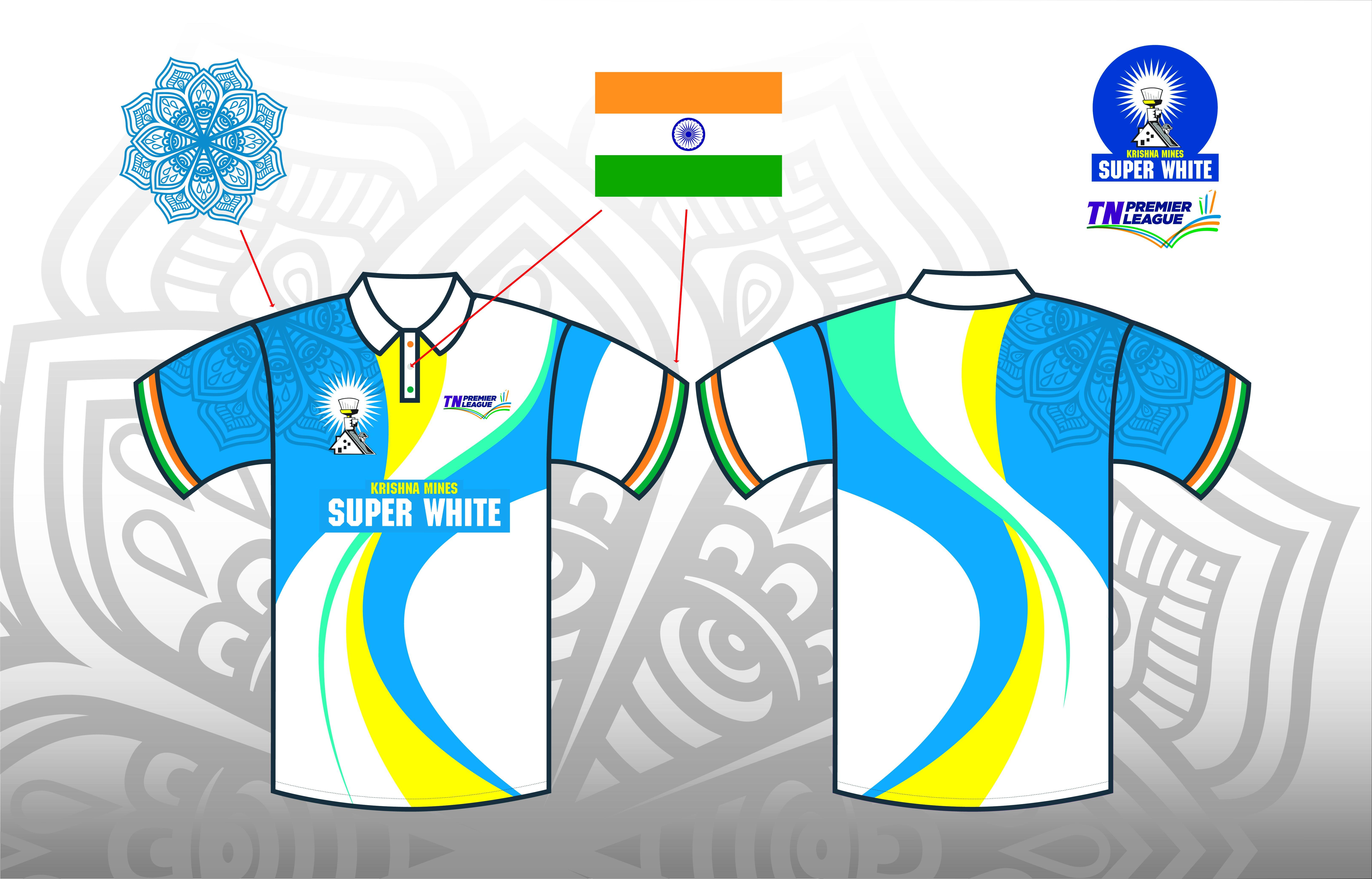 Create a Contemporary T - Shirt Design for a National Cricket League