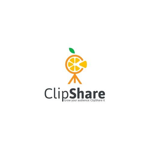 Logo concept for ClipShare