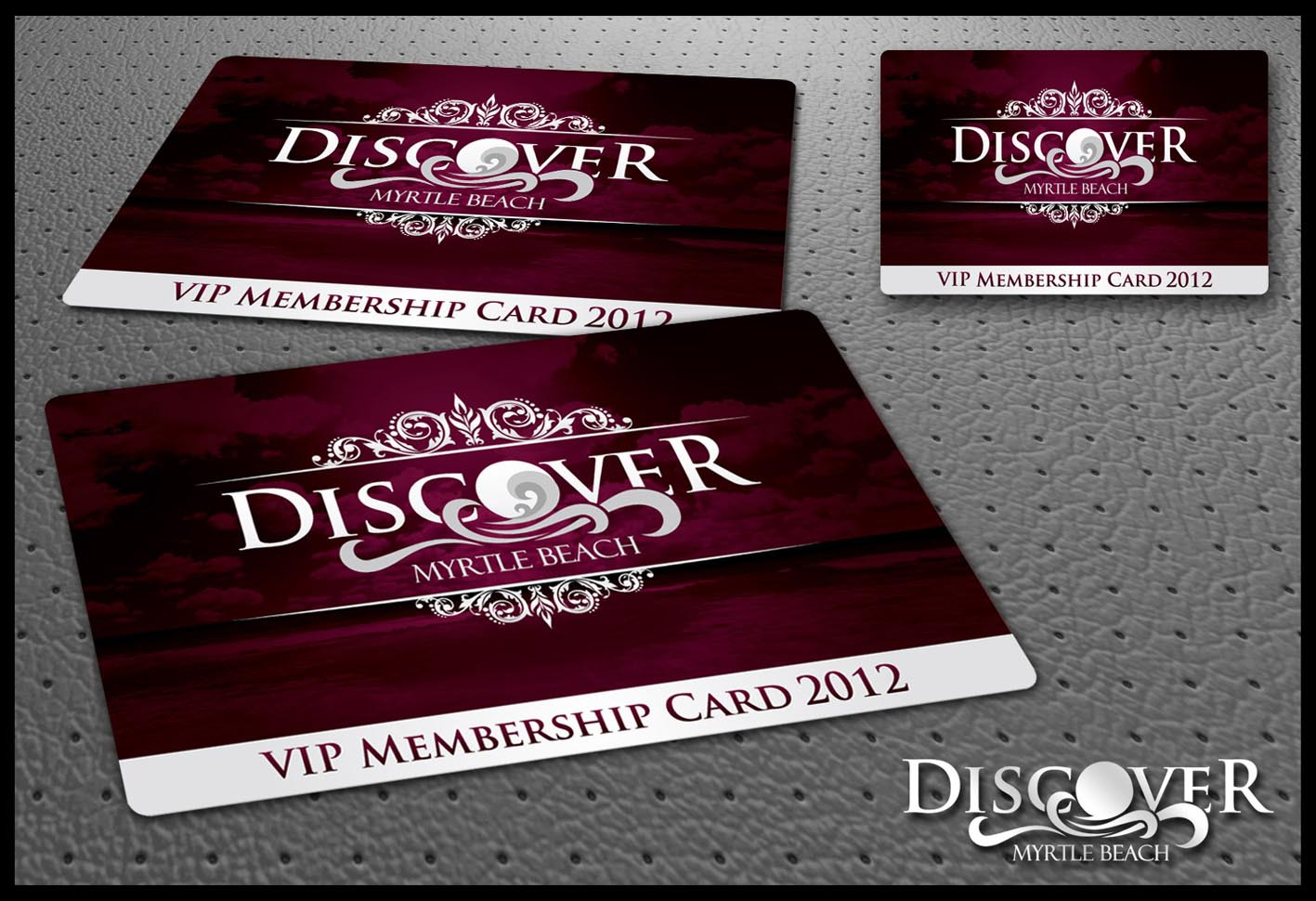 Design Our Annual Tourism Membership Card 2012 Edition