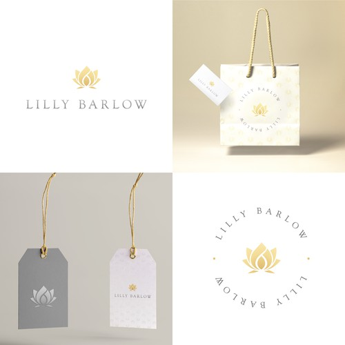 Logo design for a luxury retailer.