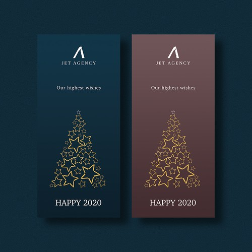 Happy new year design for Jet Agency_2