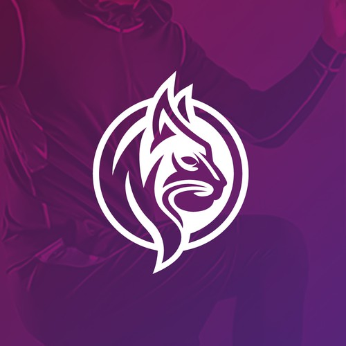 Calm Lynx Logo Design