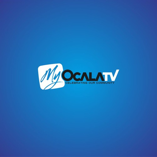 TV Show logo -- Bright, clean, simple, creative.