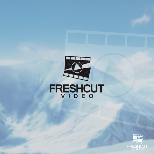 logo concept for Fresh Cut Video