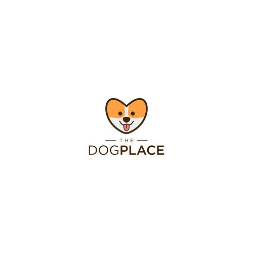 THE DOG PLACE logo concept