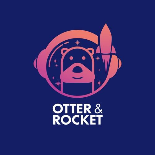 Otter & Rocket Logo