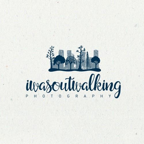 Iwasoutwalking photography logo