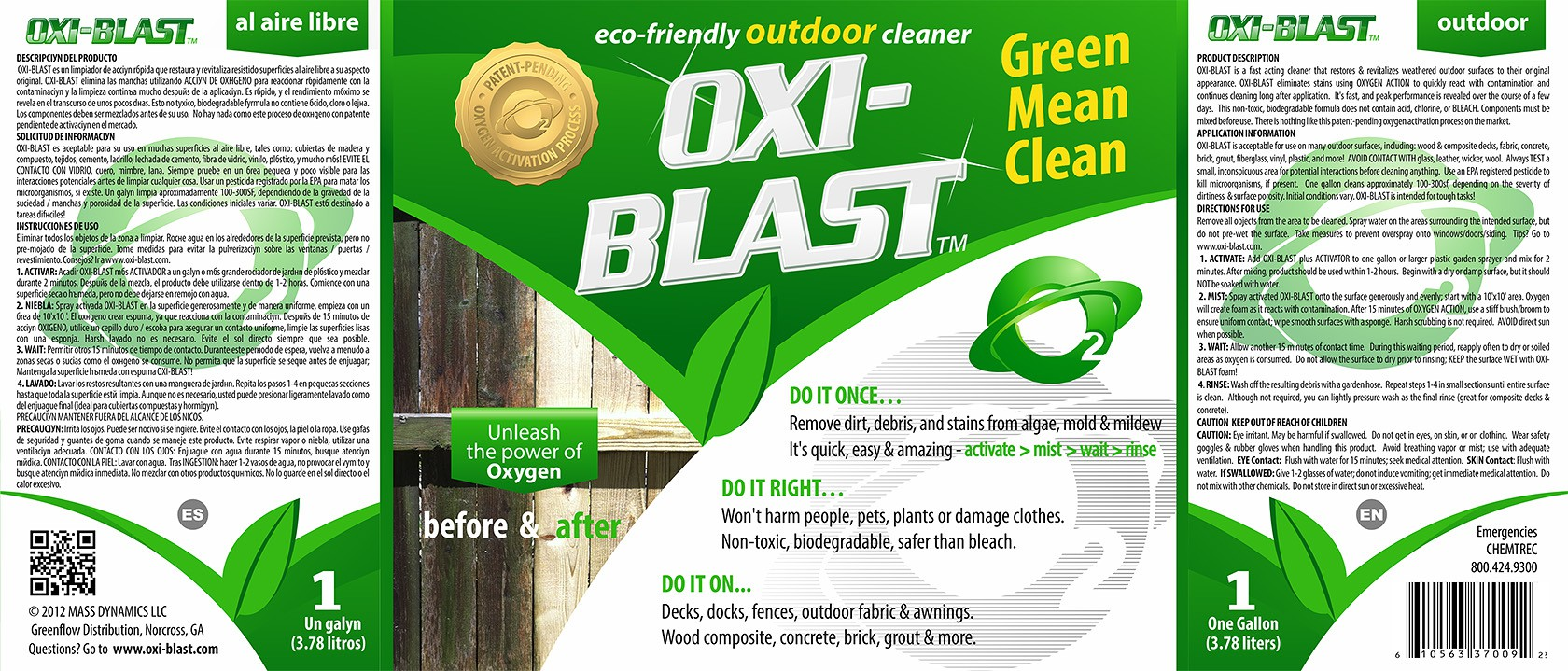 Create the next product label for Clean Green