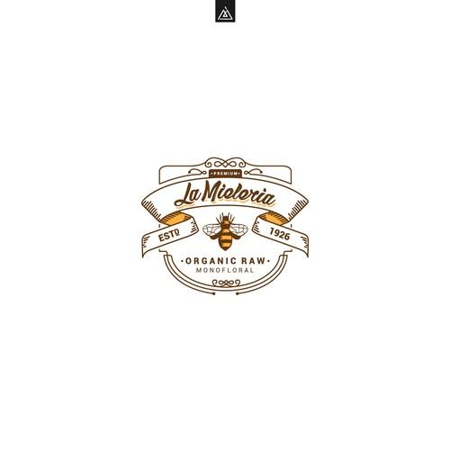 Logo concept for Honey company