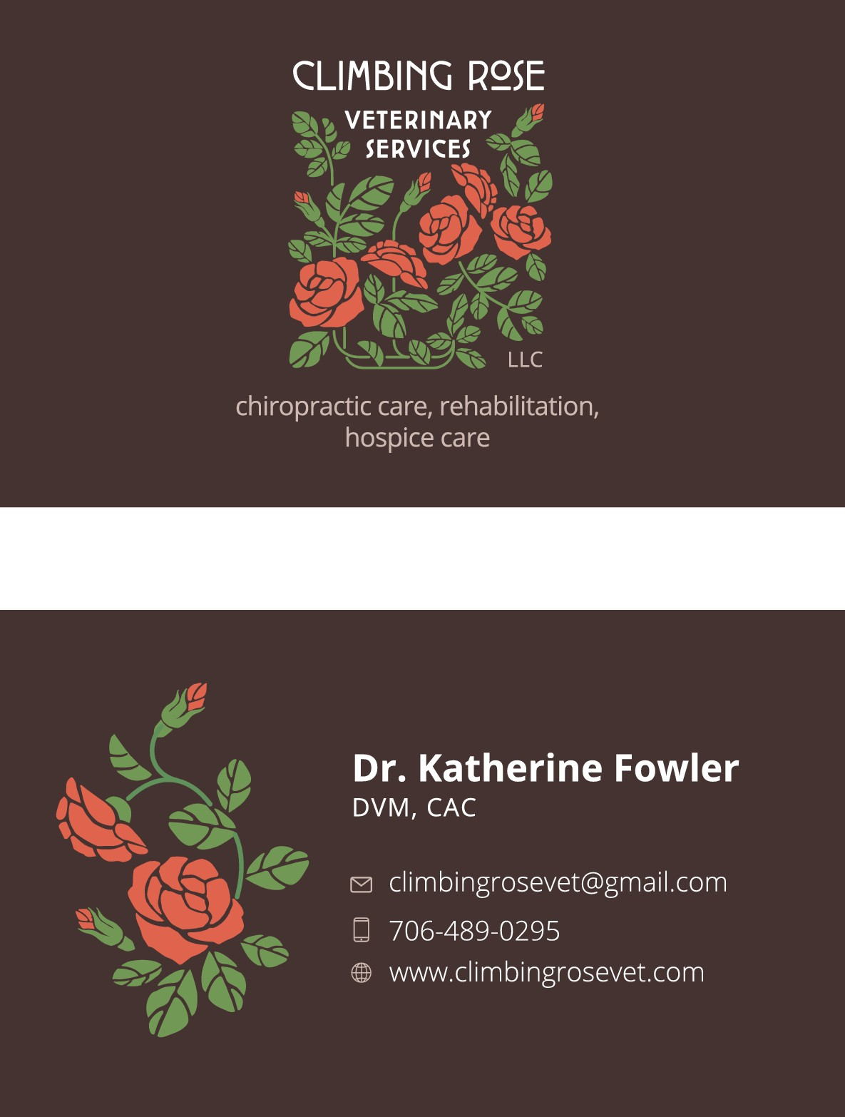 Change business cards