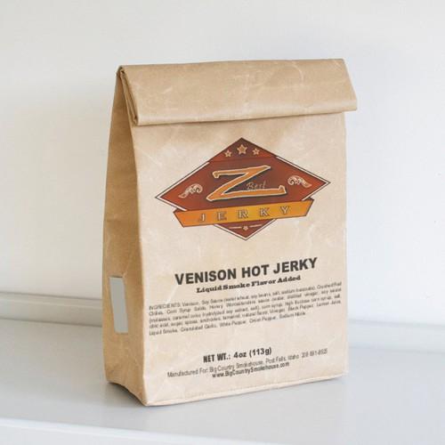 Logo design for jerky product labels