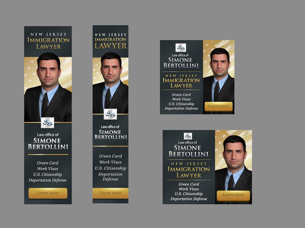 Create AdWords static banners for an Immigration Law Firm
