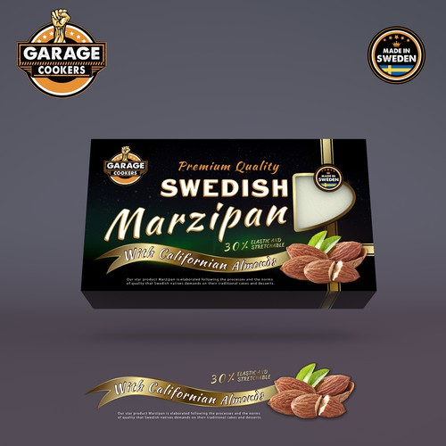 Product Packaging Marzipan