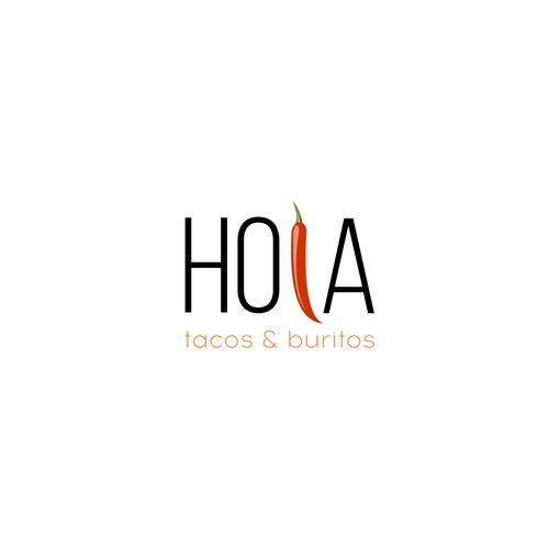 We need a modern, minimalistic, yet powerful logo for a fast-casual mexican restaurant.