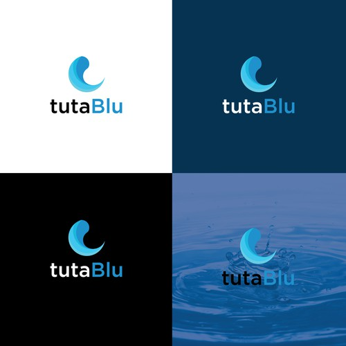 Logo design for tuta blu