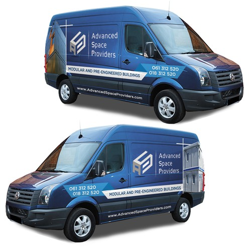 Van wrap for Advanced Space Providers