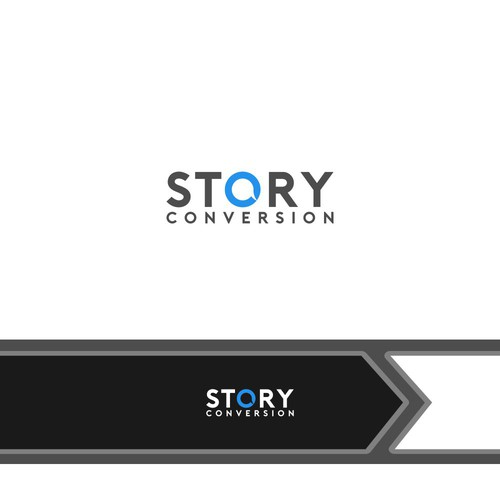 logo concept for Story Conversion