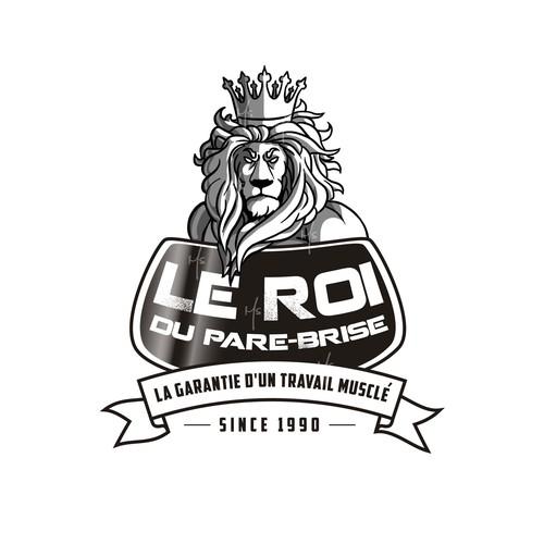 """Logo for """"Le Roi du Pare-Brise"""""""
