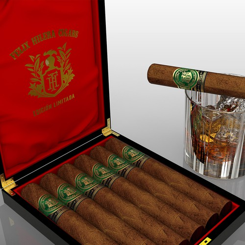Classy and Elegant Cigar Band (label)