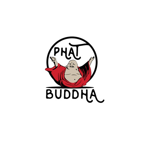 Logo Concept for Phat Buddha