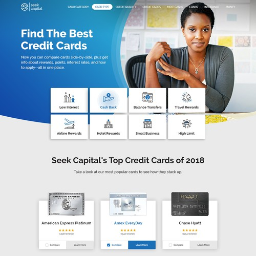 Looking for a credit card?
