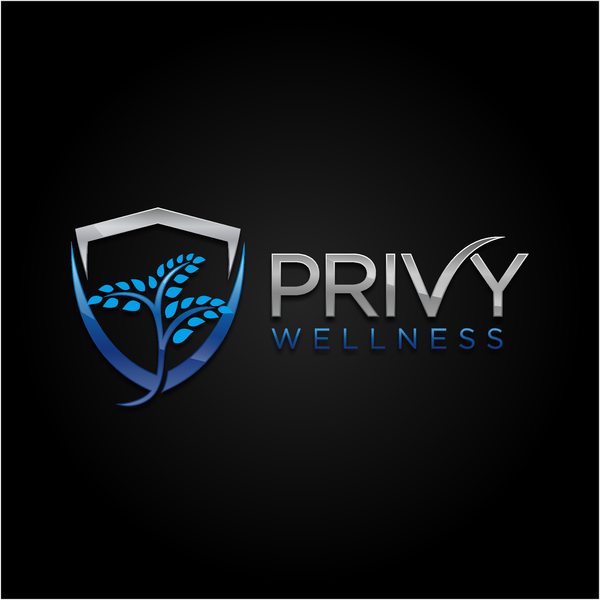 Creative and trendy design logo for healthy lifestyle brand