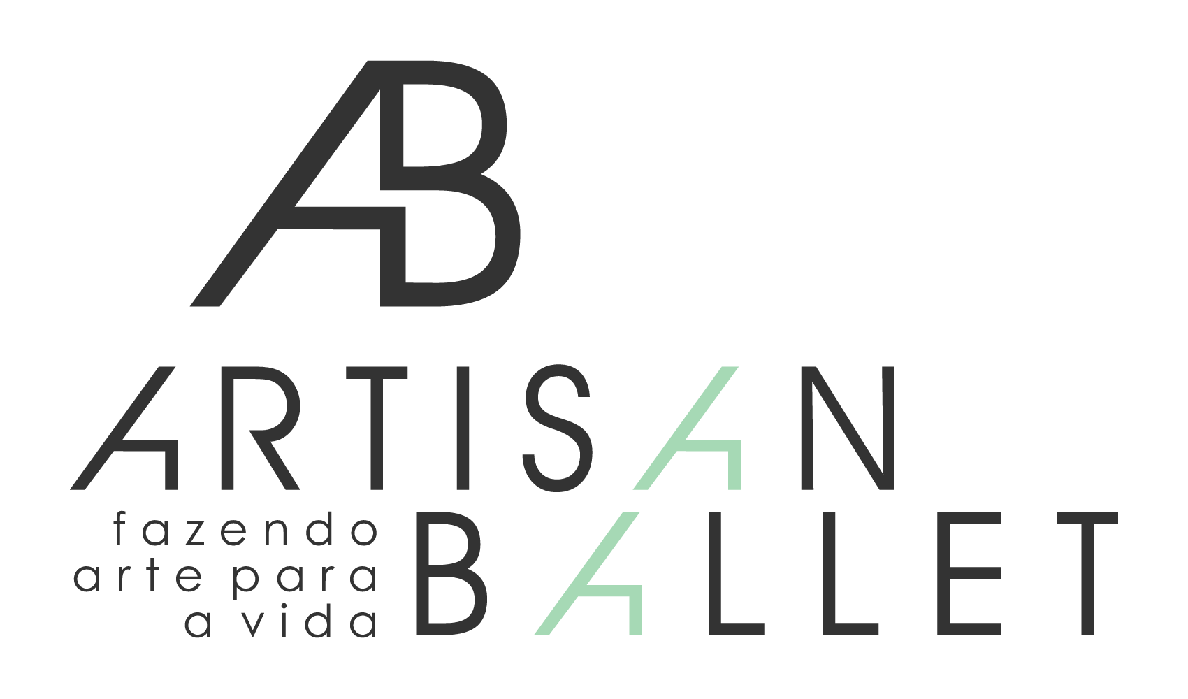 Create a minimalist-elegant logo for a brazilian dance and other arts school
