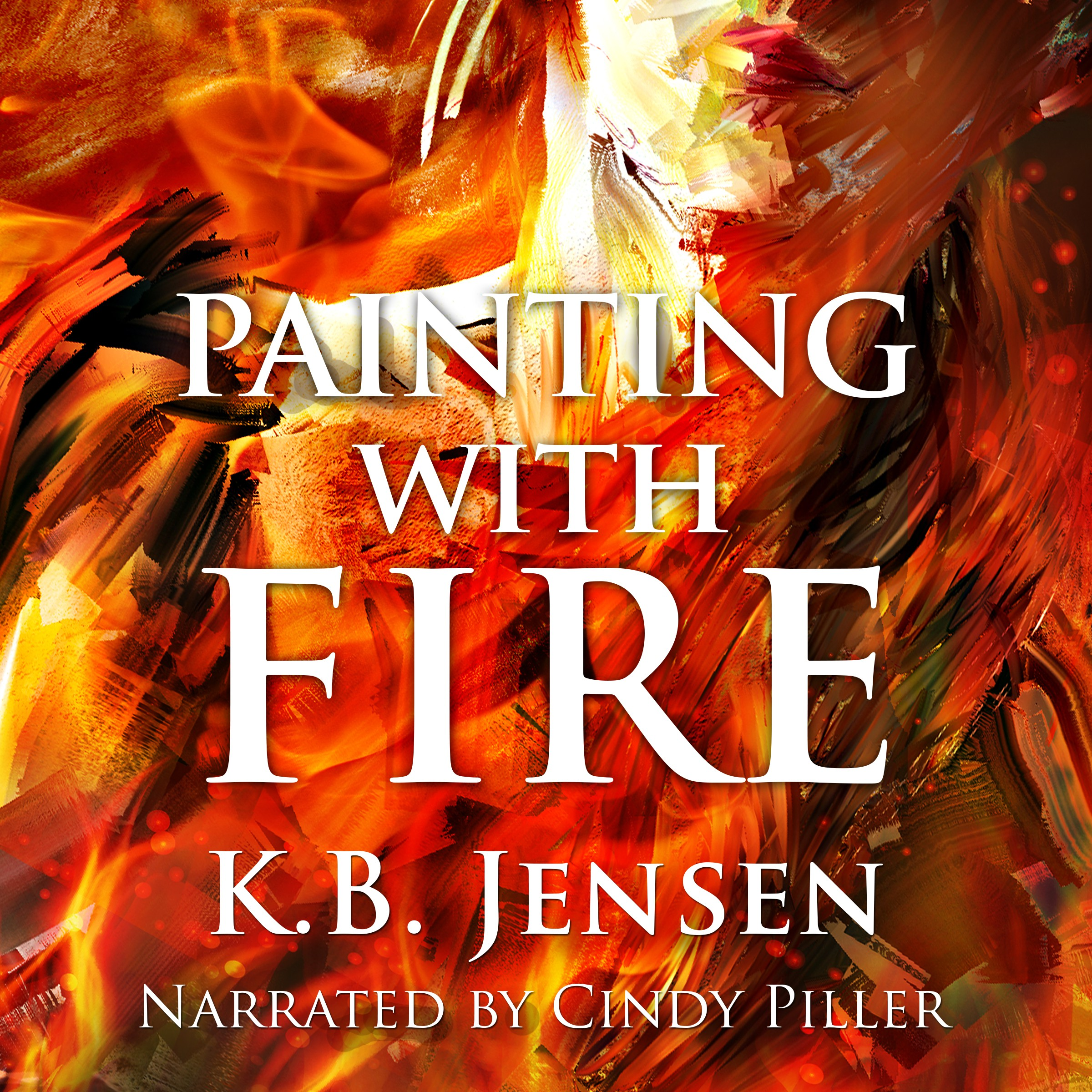 Painting With Fire Audiobook cover