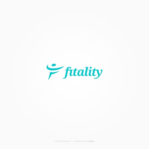 Logo concept for a fitness startup