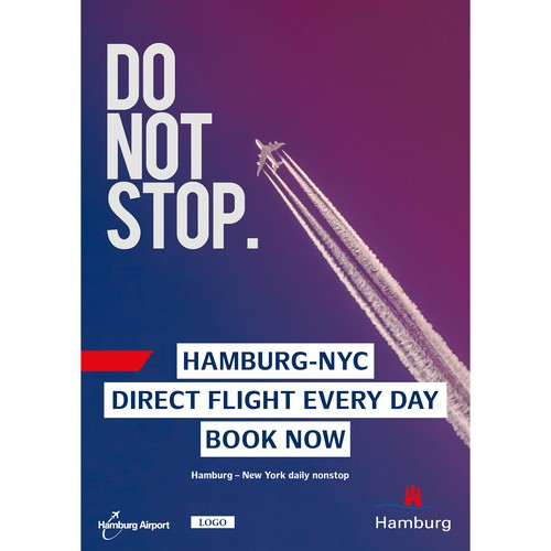 Poster Design for Hamburg Airport